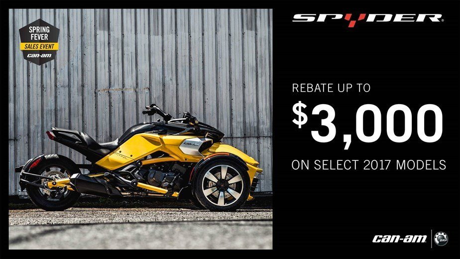 Can-Am Spyder Spring Fever Sales Event